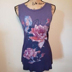 Lucky Brand purple blouse